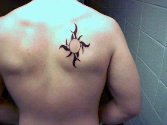 Xiaan Bodyart Nicks Tattoo Based On The Sun Design